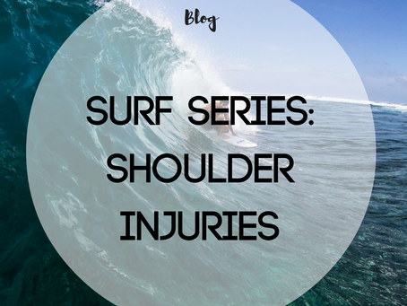 Surf Series: Shoulder Injuries