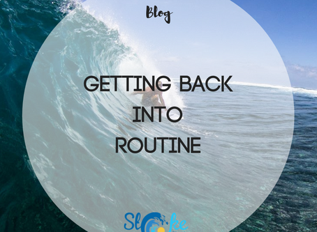 Getting Back Into Routine
