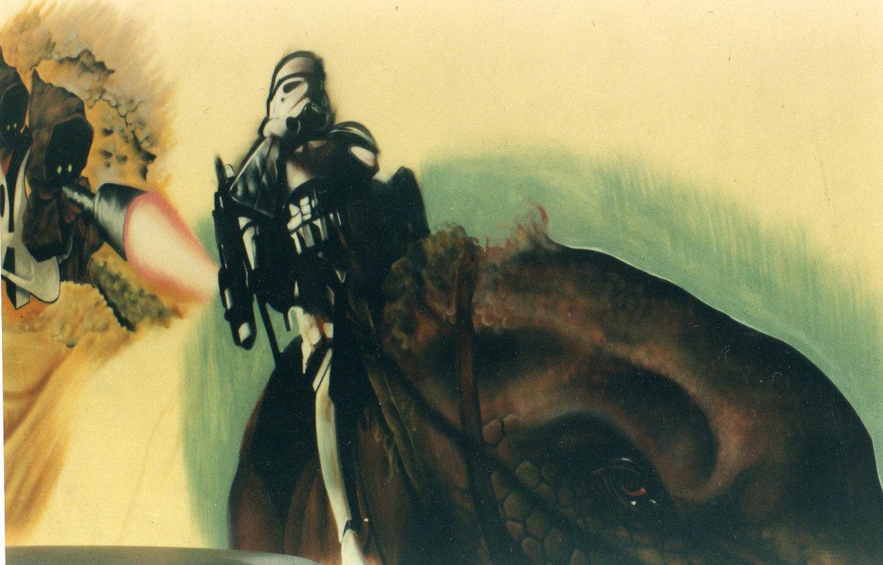 Old school painting 1994