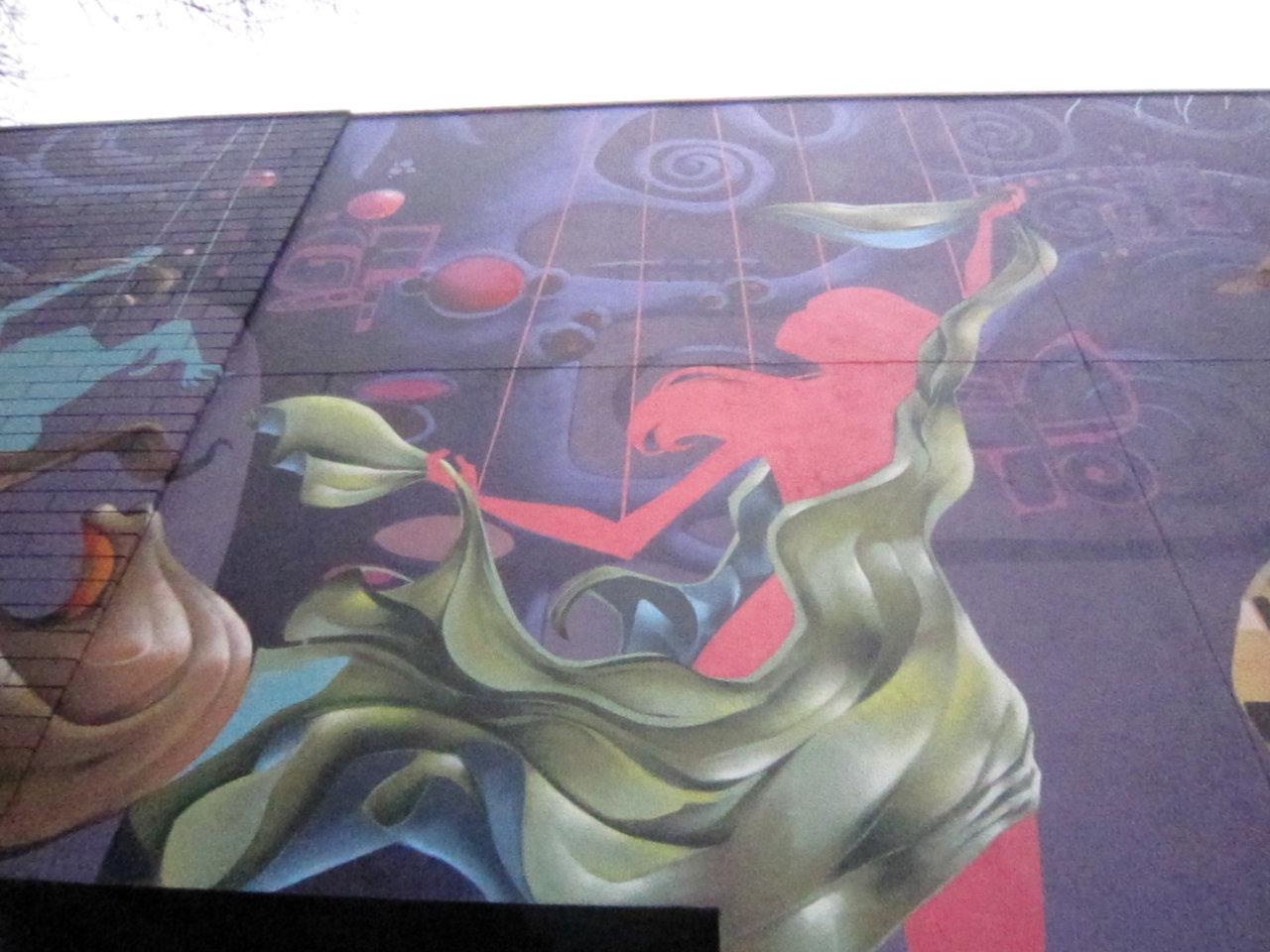 mural in w.vancity