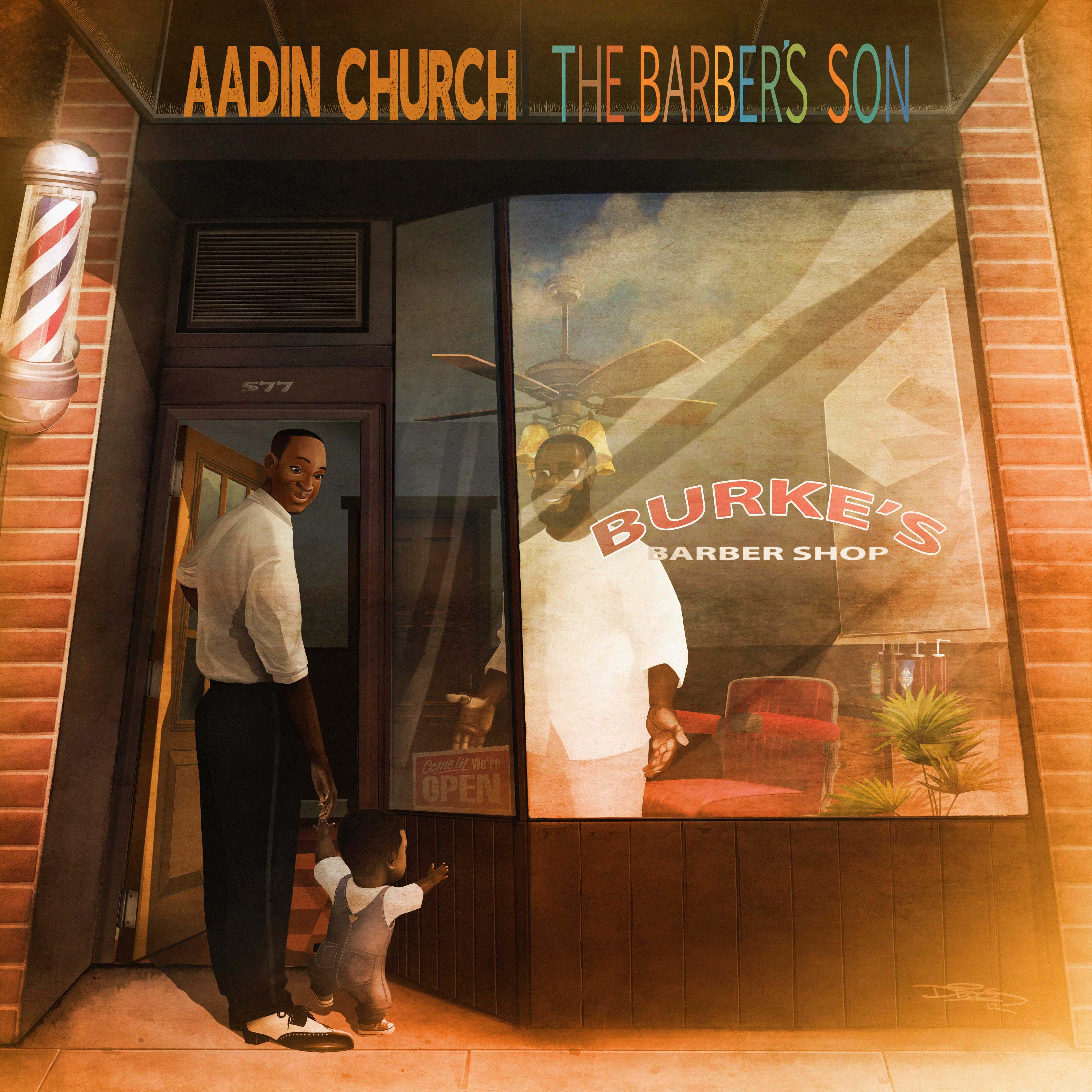 Aadin Church album cover 2012