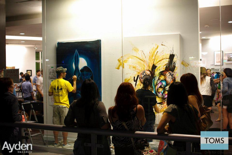 Painting at Ayden