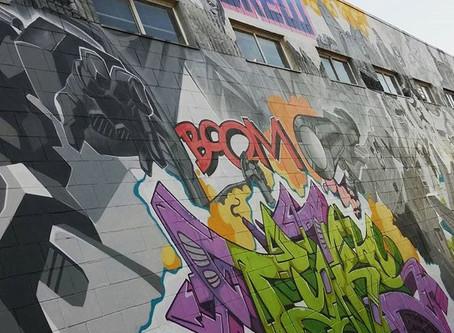 Transformers Graffiti wall