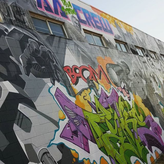 Transformers Graffiti wall