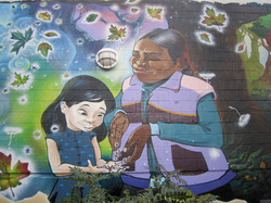 section of mural 2010