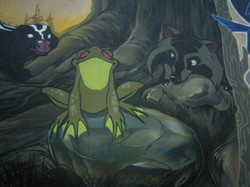 Turtle island mural vancity