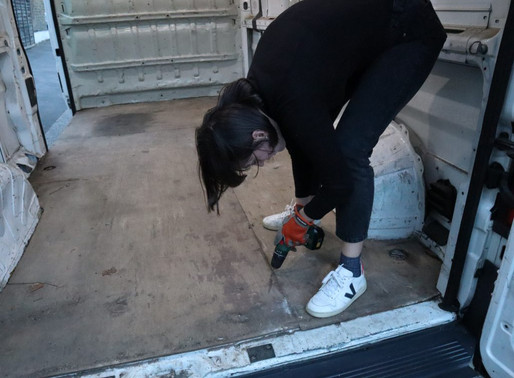 How to strip out a van ready for conversion