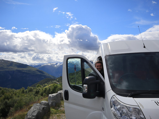 How to travel Norway in a van without breaking the bank