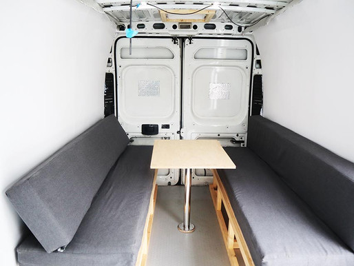 How we built our camper van walls out of plywood