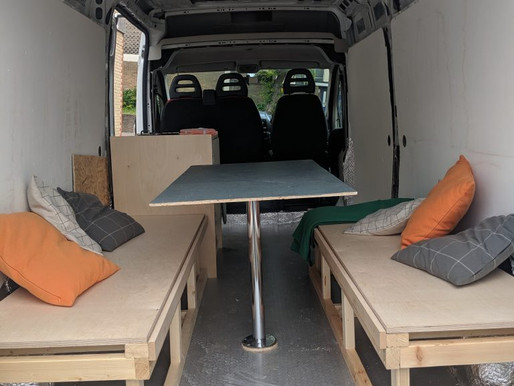 Our 30 day van conversion to motorhome
