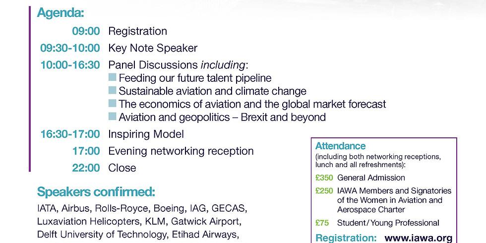 IAWA 2019 European Leadership Forum