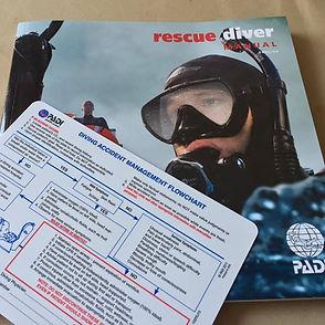 Rescue Diver Book