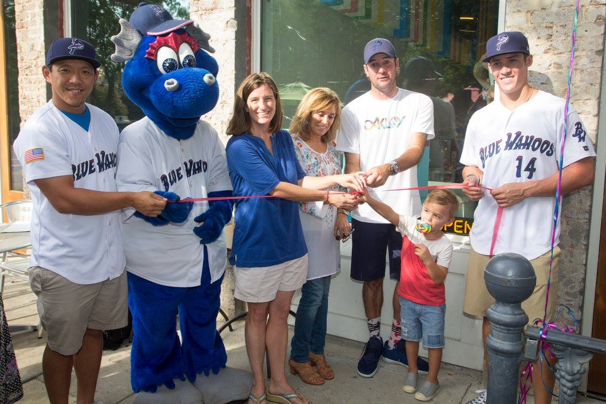 Ribbon Cutting at Bubba's Sweet Spot