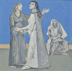 Begegnung von Maria und Elisabeth