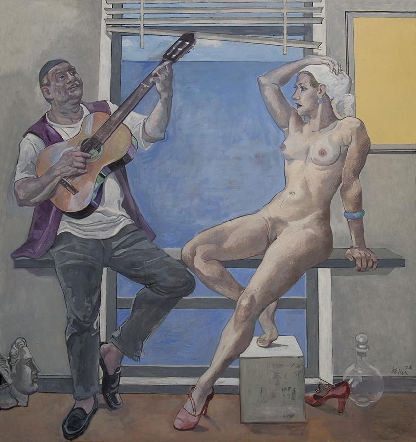 Christiane und Friedemann mit Gitarre