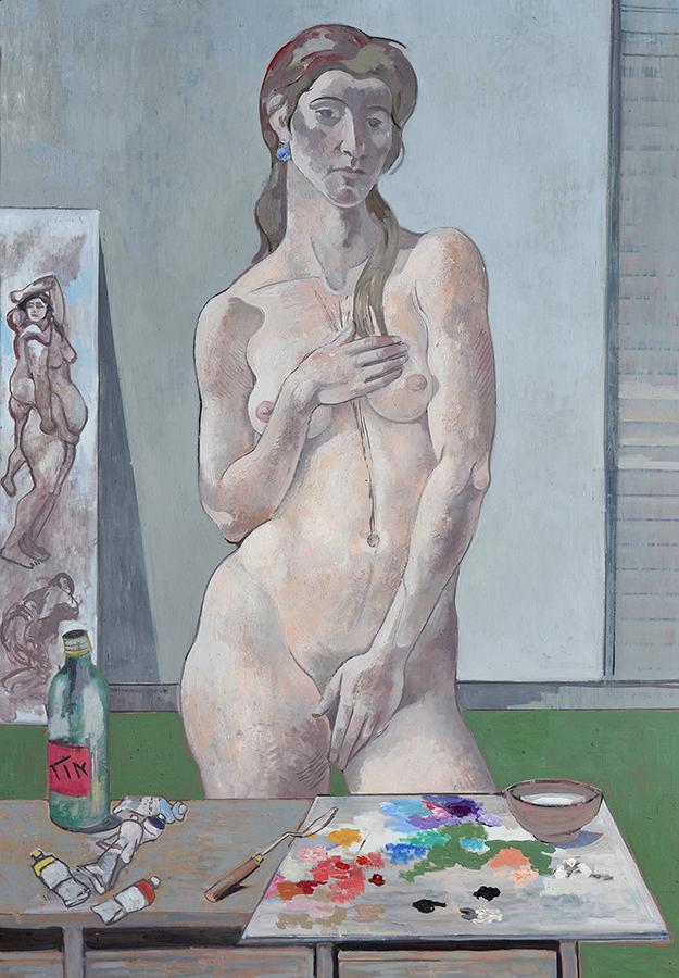 Carolin im Atelier