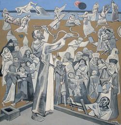 Jesus auf dem Dach