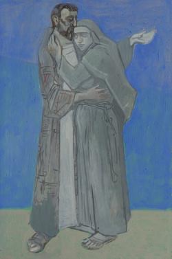 Hl. Franziskus und Clara von Assisi