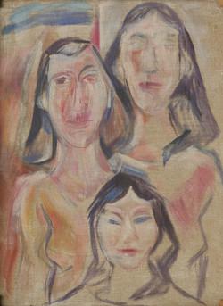 Drei Sizilianerinnen