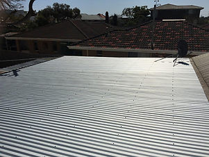 Repair of tin roof in Geraldton