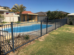 Pool fence renovation