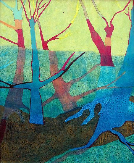 Silent Woods to the Right / Coedwigoedd Tawel i'r Dde