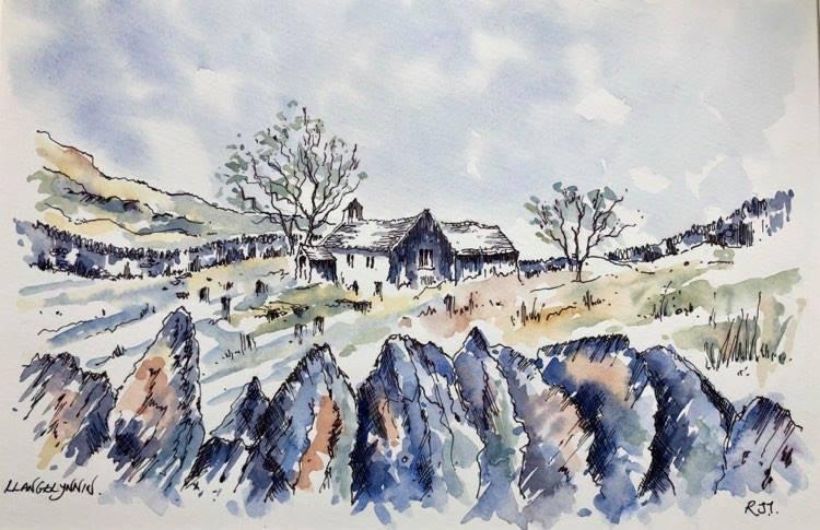 Eglwys Llangelynnin, Pilgrim's Way / Llwybr y Pererinion