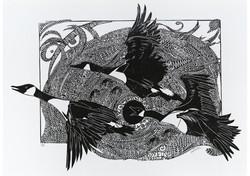 Skein - Bestiary - Ian Phillips - SOLD