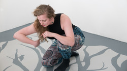 Improvised dance by Karen Meadows at the New Beginnings launch