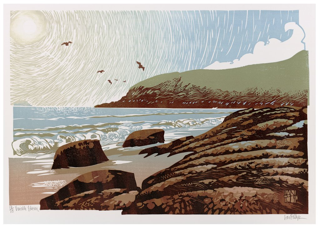Sunshine and Seagulls - SOLD