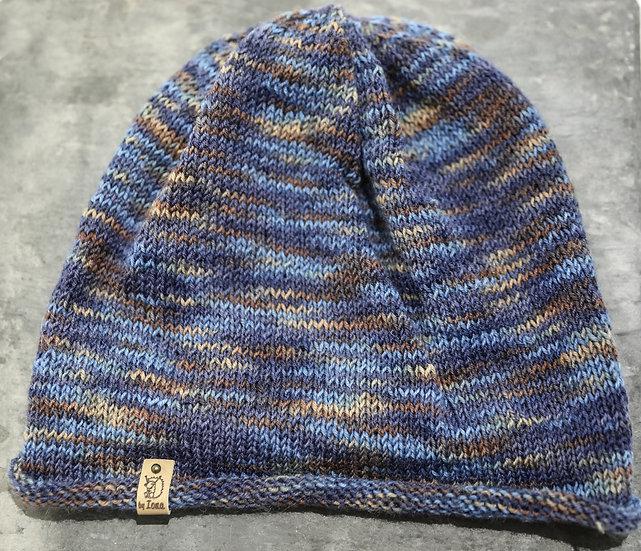 Adult Hat – Blue & Brown / Het Oedolion – Glas a Brown