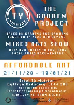 The Garden Project / Prosiect yr Ardd Exhibition