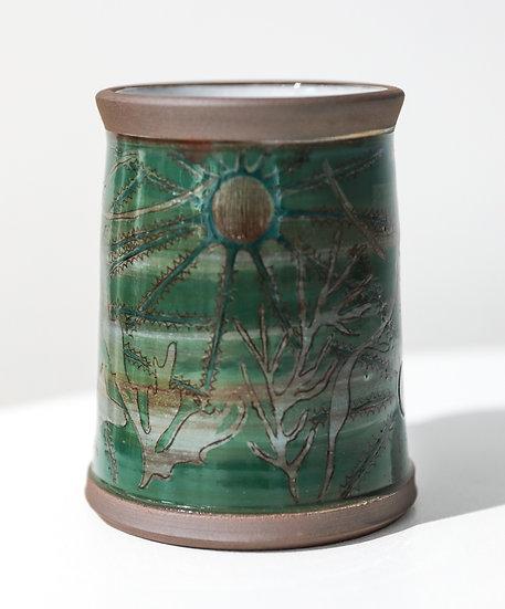 Seaweed Vase / Fâs Gwymon
