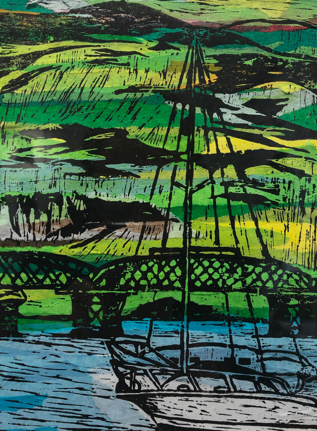 Nerys Rowse - Printmaker - Barmouth
