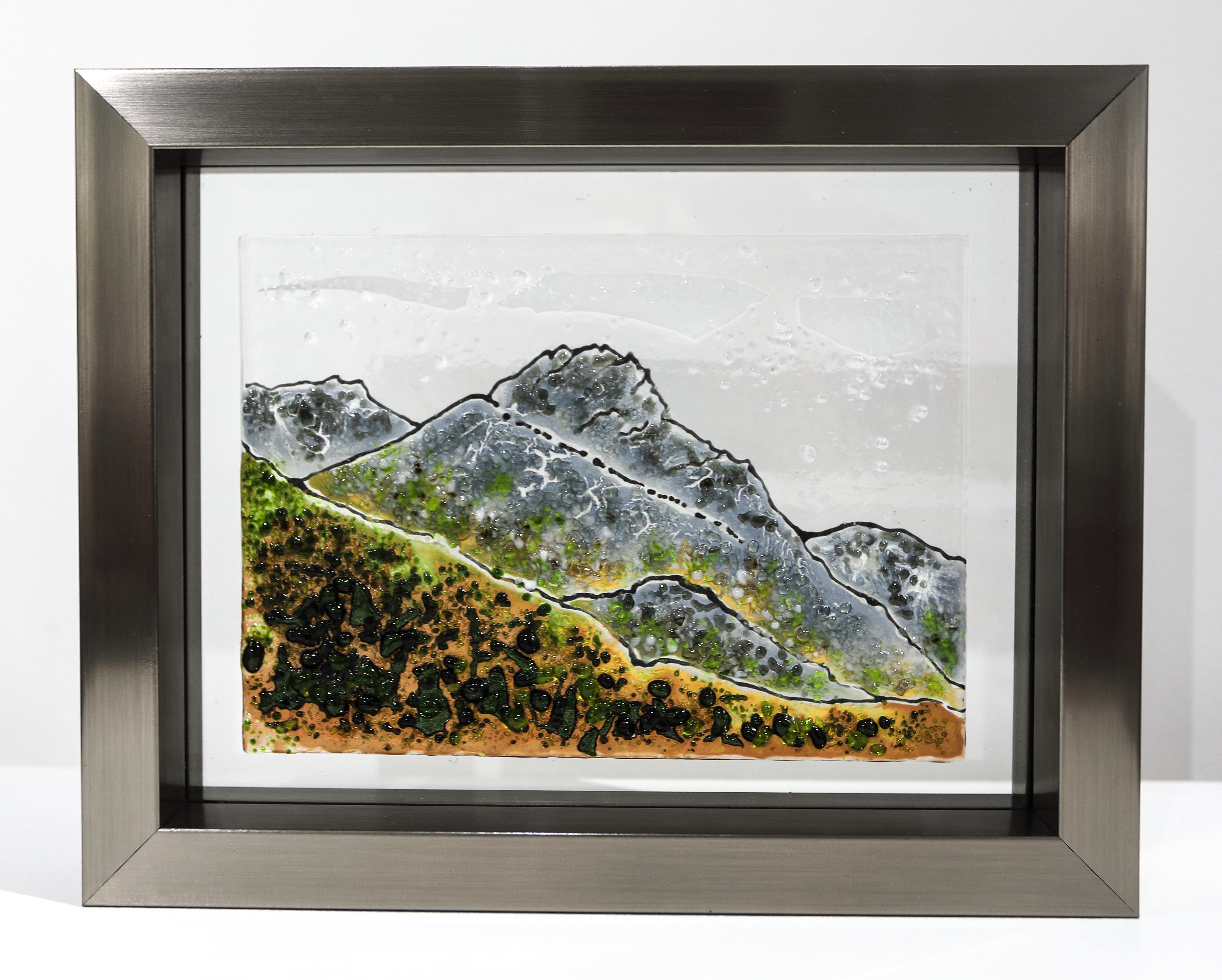 Sarah Kearsley-Wooller, 'Snowdonia – Yr Wyddfa – Infinity in Winter.'   £80