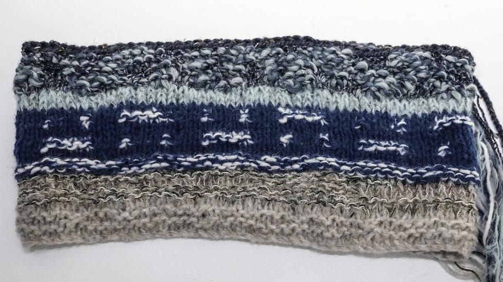 Shoreline Snood – Blue / Snŵd lan y môr - Glas