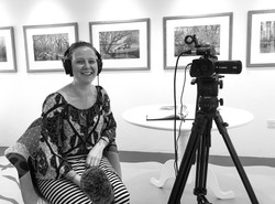 TV Interview with Alice Oliver from North Wales TV news