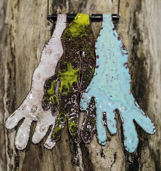 Shoreline Seaweed Neck Piece / Darn gwddf Glan môr