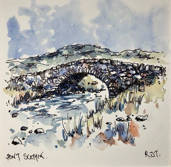 SOLD - Pont Scethin