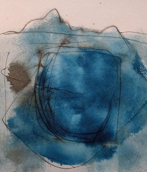 Veiled Stone / Y garreg dan gwrlid