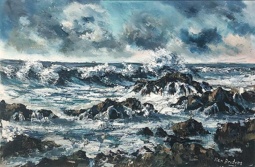 Incoming Tide / Bardsey Island / Ar Ianw, Ynys Enlli