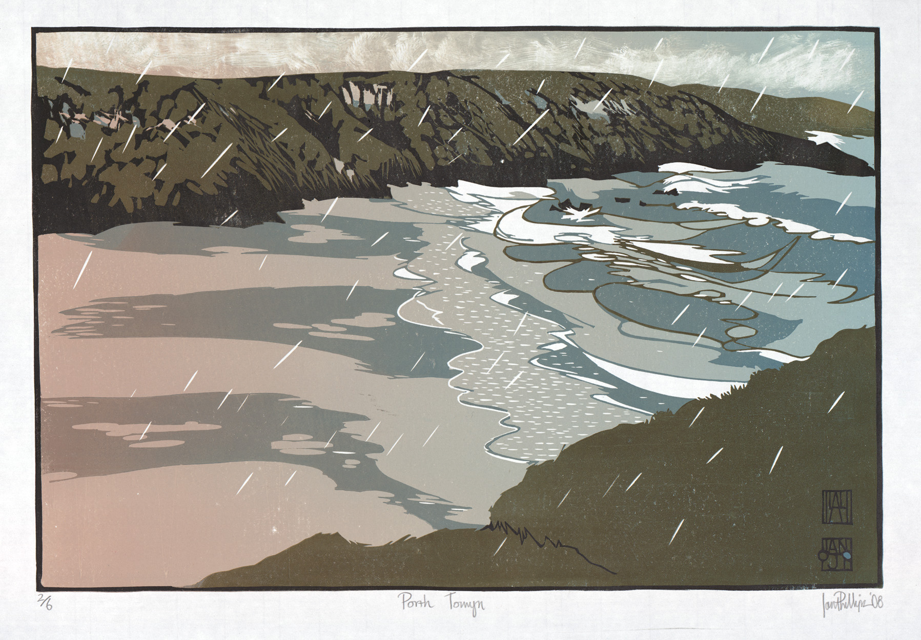 Ian Phillips, 'Porth Towyn – Llyn Coastal Path.' £585