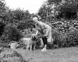 Kate and Dodge (the Dog)