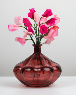 Sweet Peas in a Vase / Pys Per mewn pot blodau