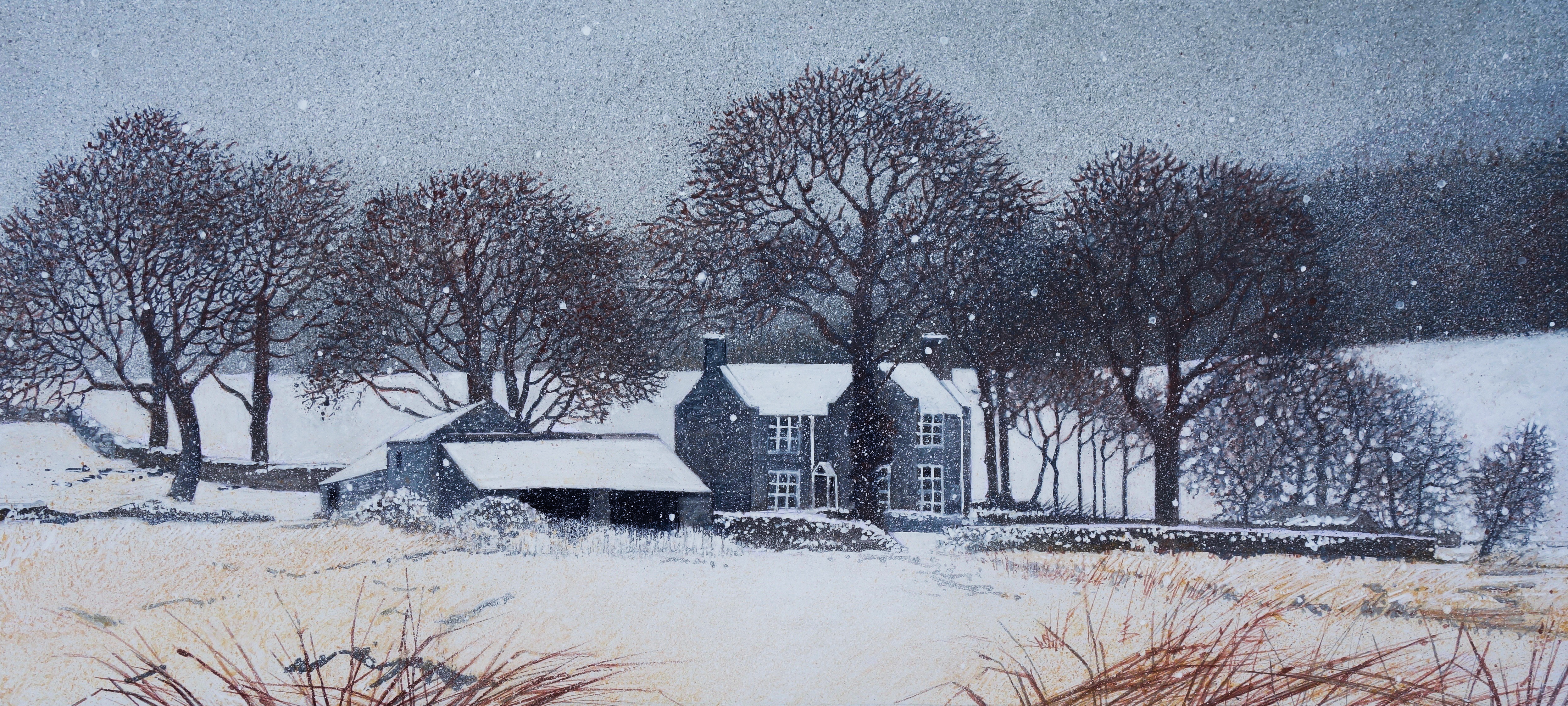 Snowing - SOLD