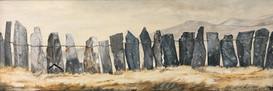 Slate Fence By Shàn Ellis