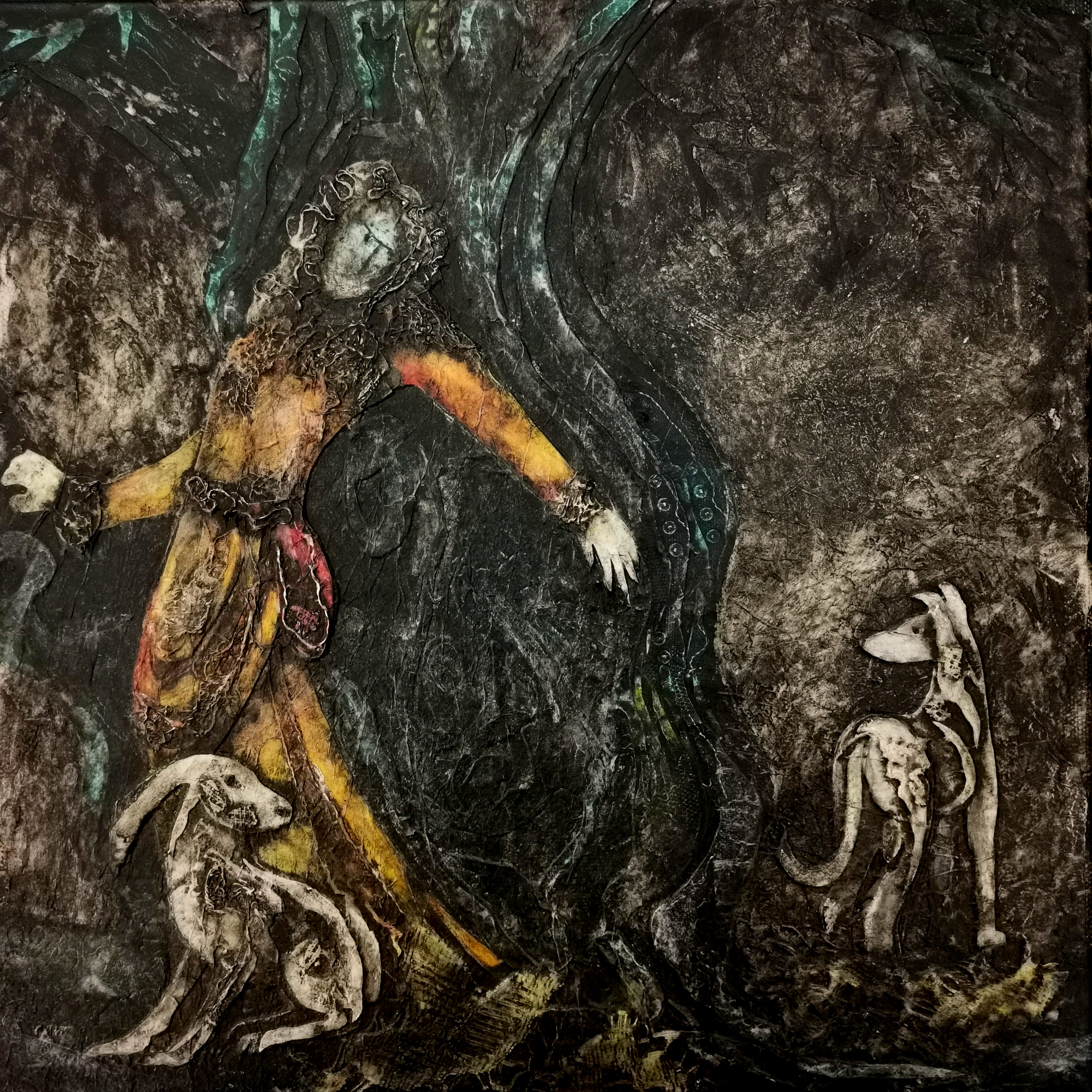 Judith Harrison - St. Melangell - SOLD