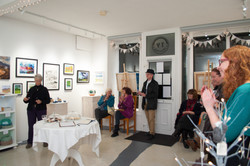 Book launch by Jean Napier of Bardsey Island - Now and Then