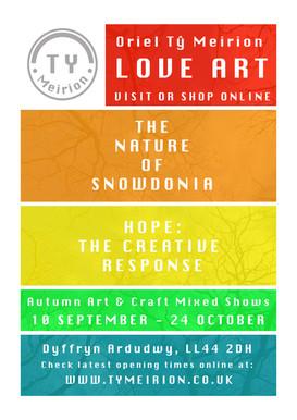 The Nature of Snowdonia & Hope: The Creative Response