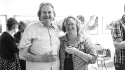 Terrence Bunce with partner Jane
